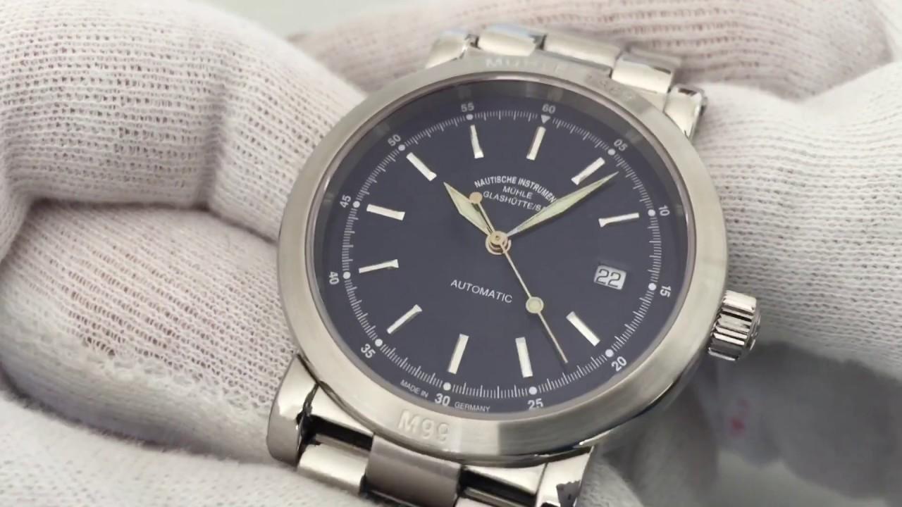Muhle Glashutte City 99 M99 Ref M1 99 40 Automatic Watch