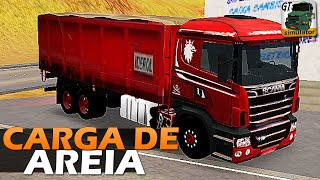 Grand Truck Simulator - Carga de Areia e Multiplayer