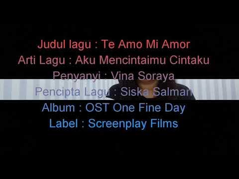 Te Amo Mi Amor ( OST One Fine Day ) - Cover by Vina Soraya