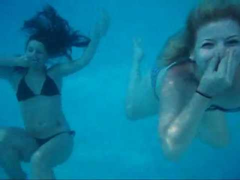 Day at the pool with friends (Underwater shots) - YouTube