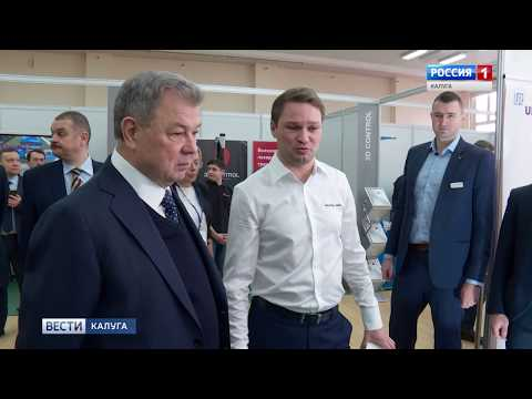 ТЕХНОРЭД на выставке в Калуге. Вести РОССИЯ Лукин Артем Владимирович