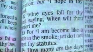 Psalm 119 King James Holy Bible