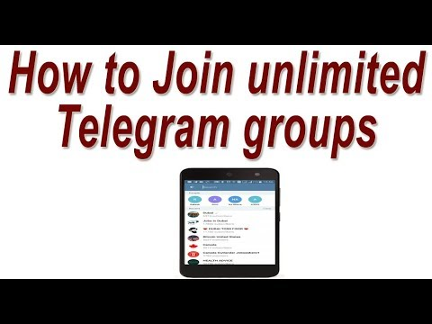 How to Join unlimited Telegram groups ! find Telegram group link