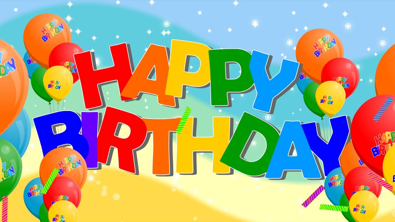 Happy Birthday Song Nursery Rhymes Popular By