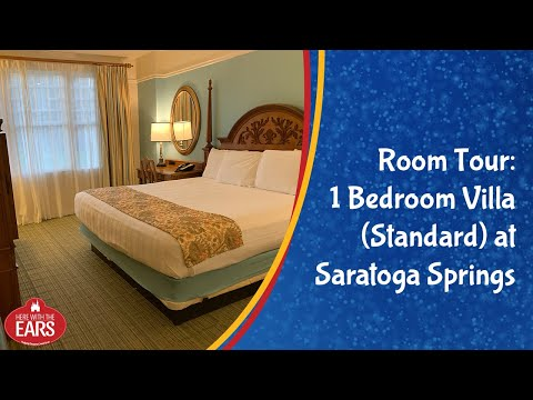 Saratoga Springs - 1 Bedroom Villa Standard Room - Room Tour