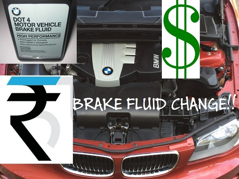 How Much Is Brake Fluid >> How Much For Bmw Brake Fluid Service