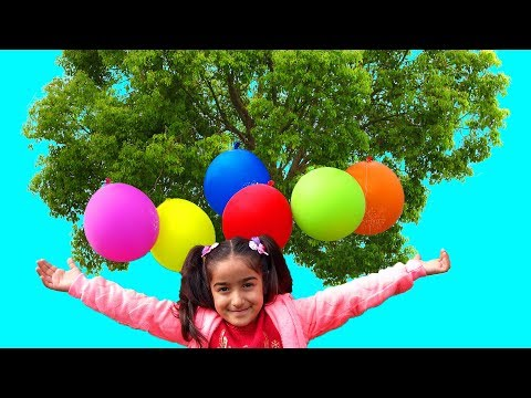 Esma and Magic balloon tree
