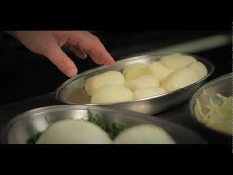 Signature Dish 'Lancashire Cheese, Potato & Onion Pie' At The Clarmont Hotel, Blackpool