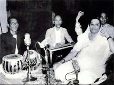 Surashree Kesarbai Kerkar- Raga Lalita Gauri, Tabla Ustad Keramatulla Khan, Jhankar Concert, Kolkata