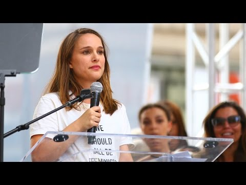 Women's March 2017: Natalie Portman Calls Out President Trump: 'You Just Started the Revolution'