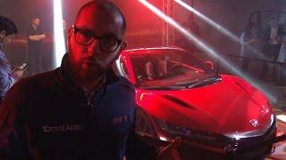 La Nuova Honda NSX by night | Salone di Ginevra 2015