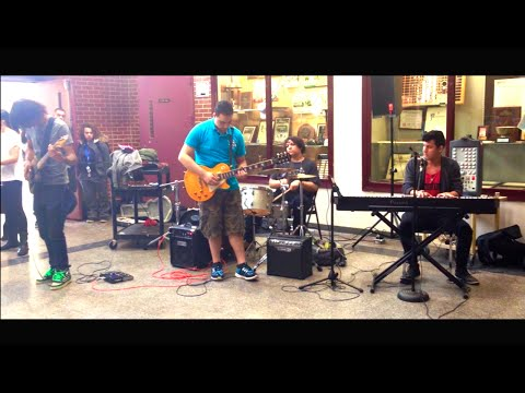 The Scientist by Coldplay Live Cover - Overtune Band