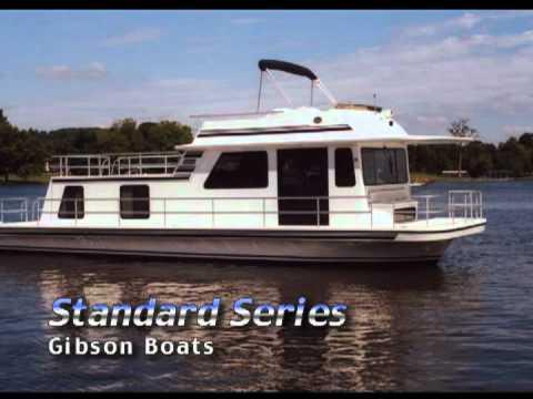 Gibson Boats - со скоростью яхты, с комфортом особняка