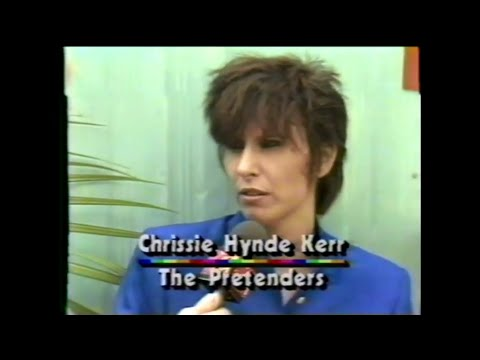 MTV Interview - Chrissie Hynde (MTV - Live Aid 7/13/1985)