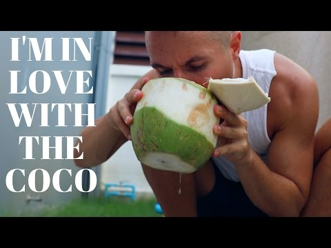The Coconut-Only Diet // Q&A Mukbang