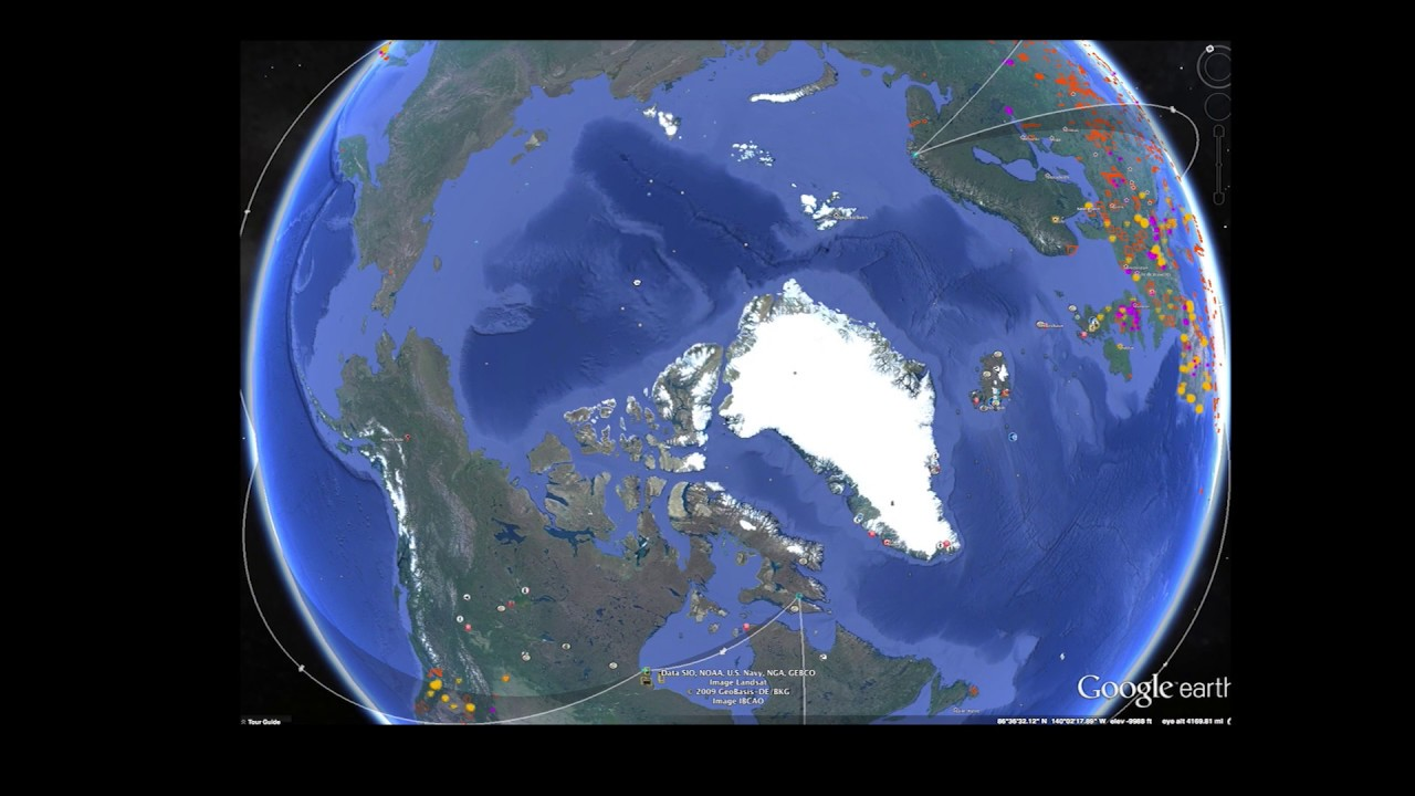 North pole missing google maps hole at the north or climate north pole missing google maps hole at the north or climate change youtube gumiabroncs Gallery