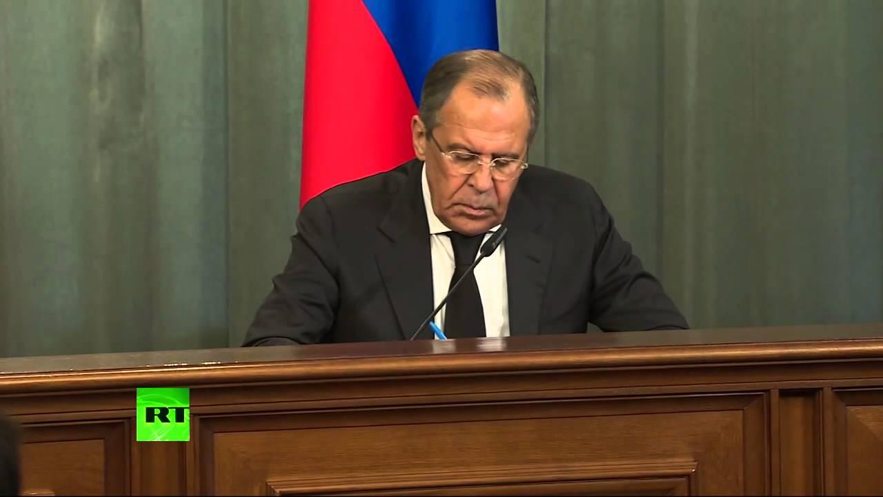 Пресс-конференция глав МИД России и Сирии