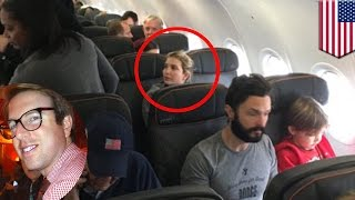 Ivanka Trump confronted by angry passenger on JetBlue flight who brags about it - TomoNews thumbnail