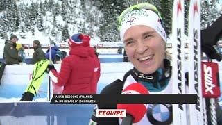 Biathlon - CM (F) : Bescond «Ça fait plaisir»