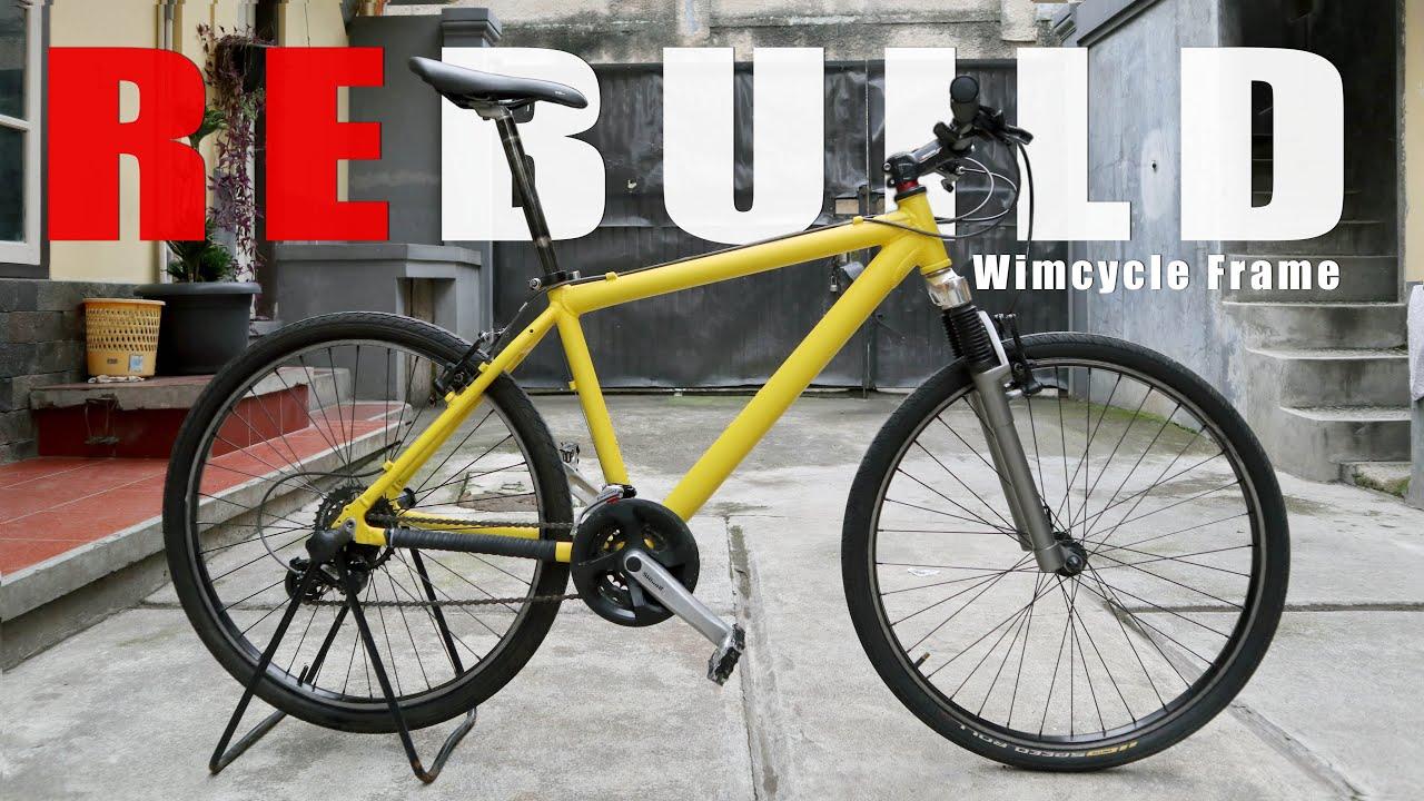 Rebuild Sepeda Wimcycle Kuning Lemon Madivlog Youtube