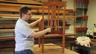 Gamble House Living Room Arm Chair Project Preview