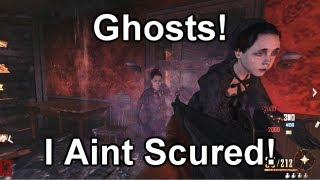Black Ops 2 Zombies Wild West - E02 Ghost!? IM NOT SCARED!