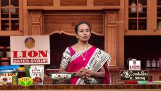 Samai Kariveppilai Sadam & Kaikutthal Arisi burny – Aarokiya Unavu – Jaya TV cookery Show Arokiya Unavu