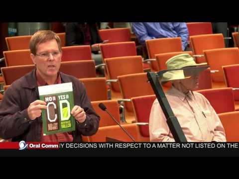 Spaced-Out Jon Willey of Cupertino, Cupertino City Council 11-15-16