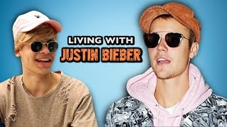 LIVING WITH JUSTIN BIEBER