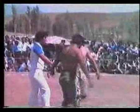 Nedim Varol.un Arşivinden. Osman çakır. Baş Pehlivan.1986.