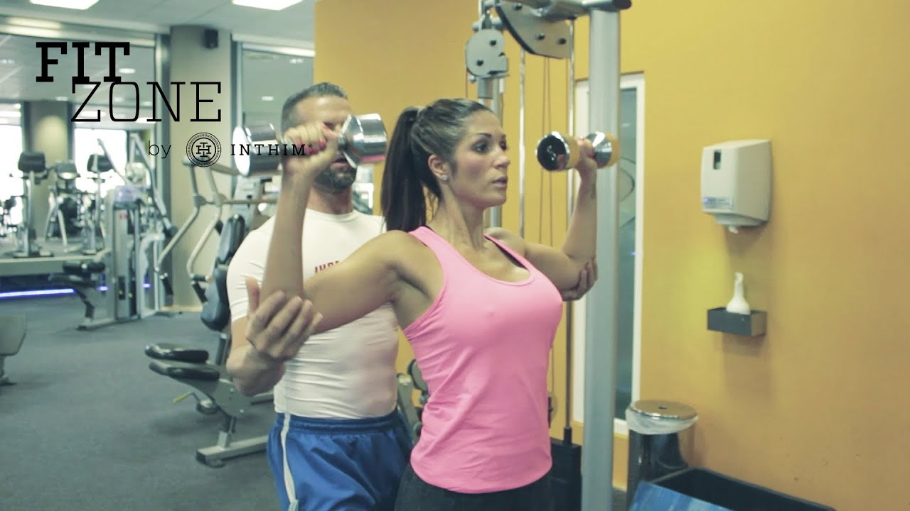 Personal Training mit Anja Polzer (Der Bachelor, Playboy