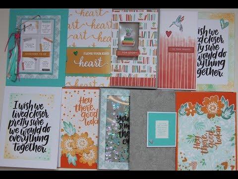 10 Cards 1 Kit! - SSS Kind Hearts - May 2018