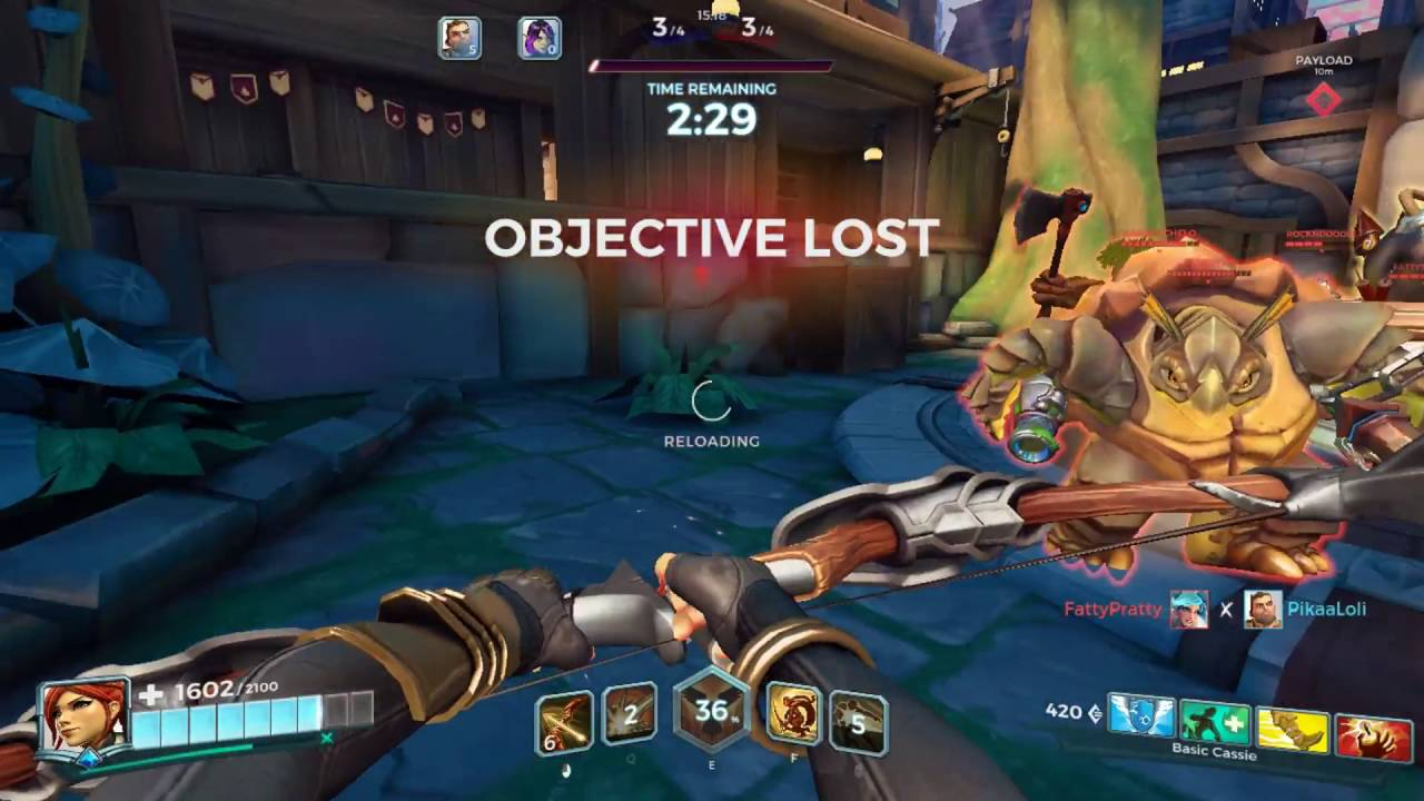 how to leave game paladins