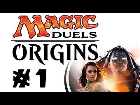 Let's Play Magic Duels: Origins #1: Building a White-Blue Weenie Deck! [Sponsored]