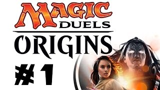 Let's Play Magic Duels: Origins #1: Building A White-blue Weenie Deck! [sponsored]