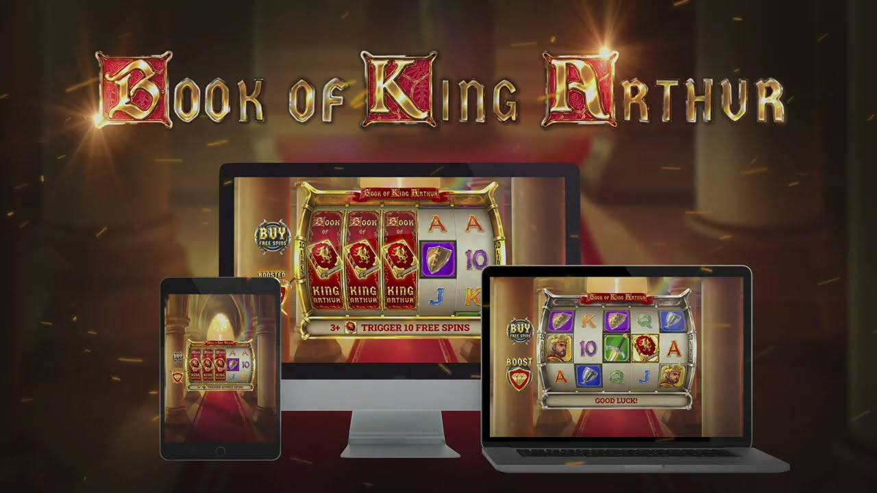 Book of King Arthur  Slot Play Free ▷ RTP 96.1% & High Volatility video preview