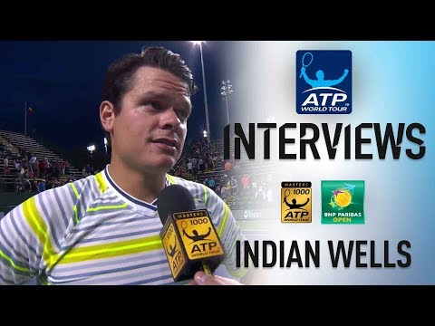 Raonic Reflects On Opening Win In Indian Wells 2018