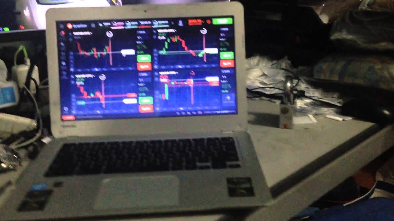 Show my own account  IQ option demo and real account