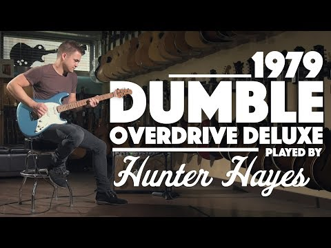 Hunter Hayes plays through a Dumble Overdrive Deluxe