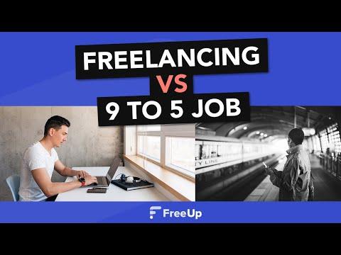 Freelancing Pt 3: Working At Home Vs Traditional Job