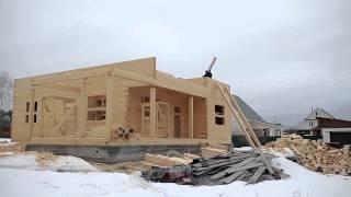Строительство дома из сухого профилированного бруса(Наше новое видео о строительстве домов из сухого профилированного бруса. Больше об услуге вы найдете по..., 2015-09-17T04:42:07.000Z)