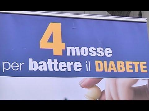 Napoli - 4 mosse per battere il diabete (14.11.15)
