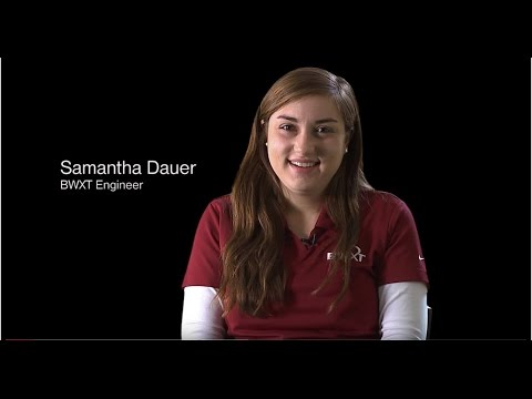 BWXT Engineer Samantha Dauer