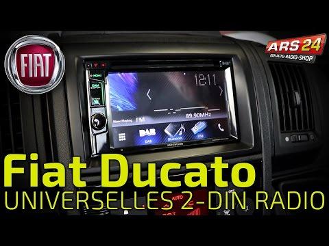 2-DIN Autoradio im Fiat Ducato einbauen -TUTORIAL- Kenwood DDX8016DABS