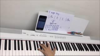 """【電影""""Passengers""""中文主題曲】G.E.M. -《光年之外》鋼琴伴奏教學 Piano Accomp. Tutorial (附Chord譜)"""