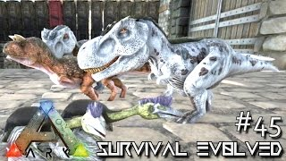ARK: Survival Evolved - DINO BABY MILL - TREX CARNO & QUETZ BABIES !!! [Ep 45] (Server Gameplay)