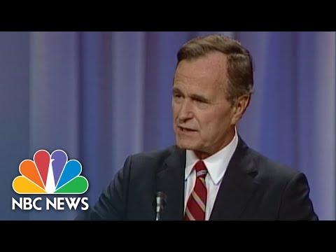 1988-flashback:-george-h.w.-bush-says,-'read-my-lips:-no-new-taxes'-|-nbc-news