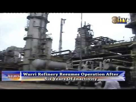 Warri Refinery Resumes Operation After Six Years Of Inactivity