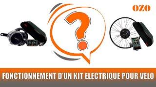 Fonctionnement d'un kit électrique pour vélo