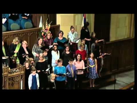 """From The Day You Were Born"" Childrens Choir, JWL, and Moms-- Russel Nagy Composer"